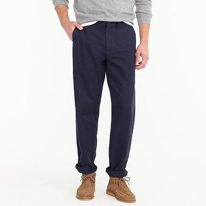J Crew Broken-In Navy Blue Chino